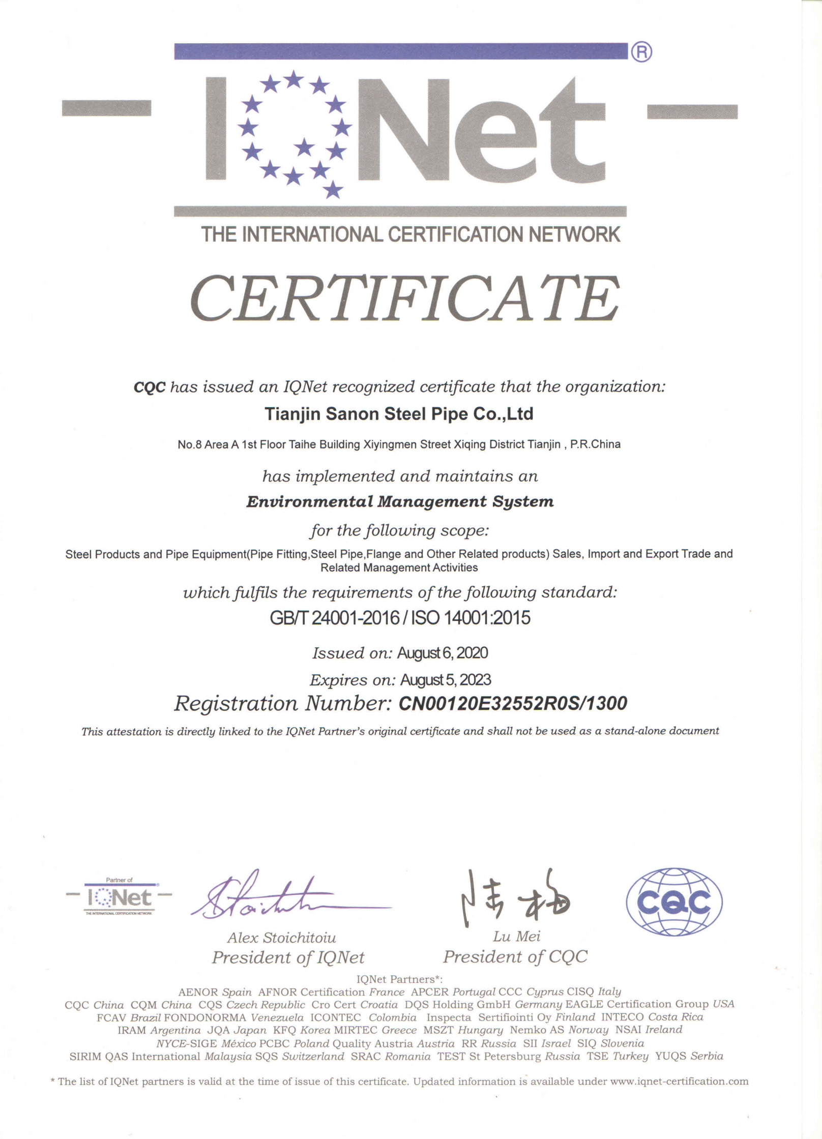 IQNet ISO14001_00