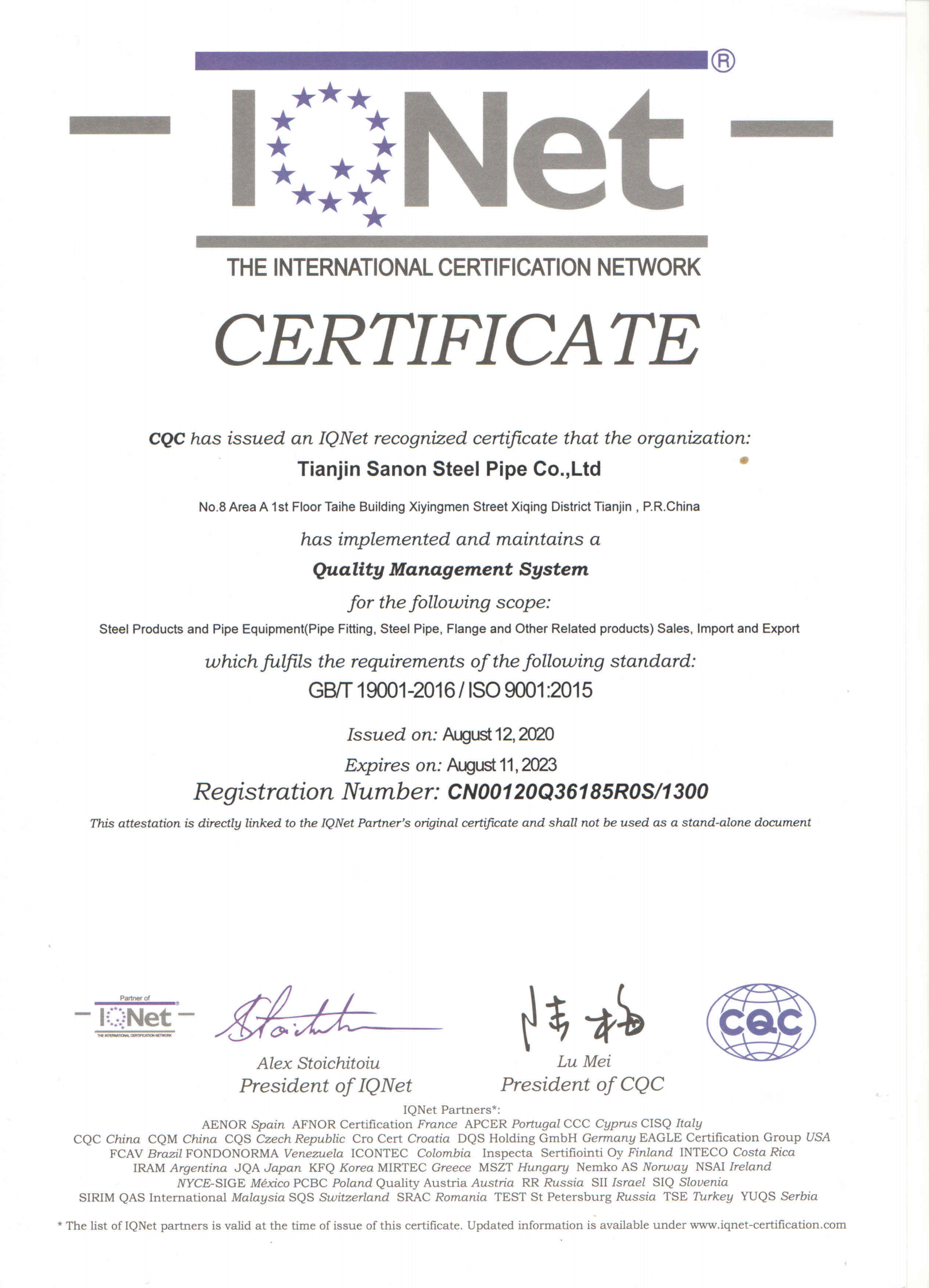 IQNet ISO9001_00